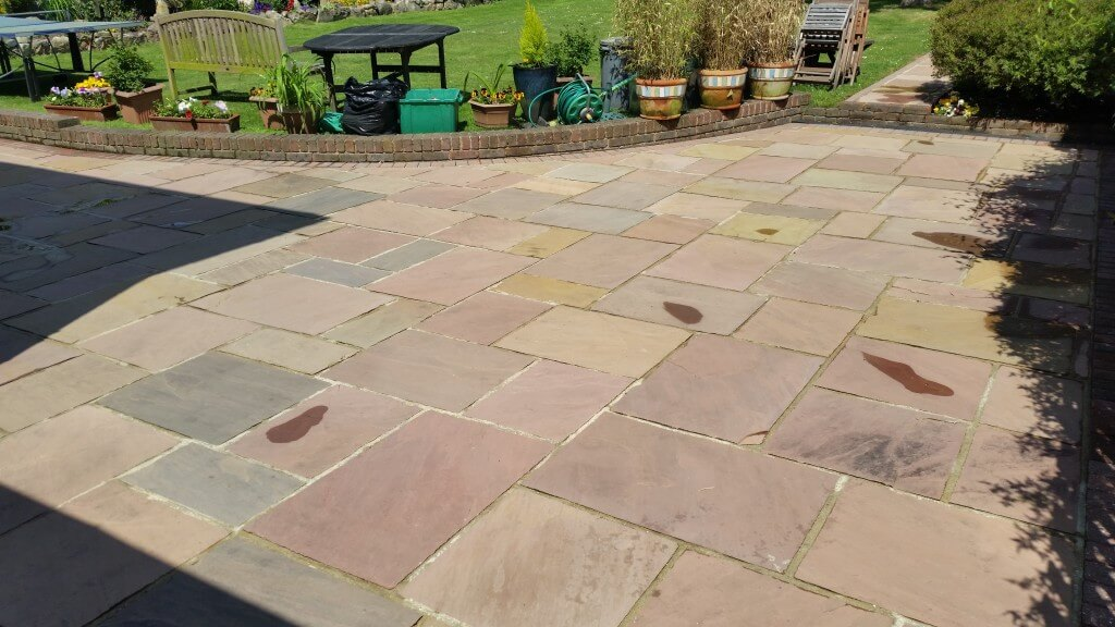 Natural Stone After A Clean