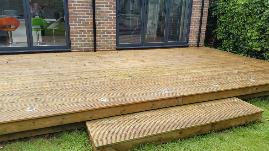 Decking After 2 Coats Natural Oil
