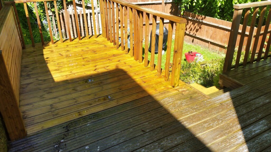 Deck During a Clean