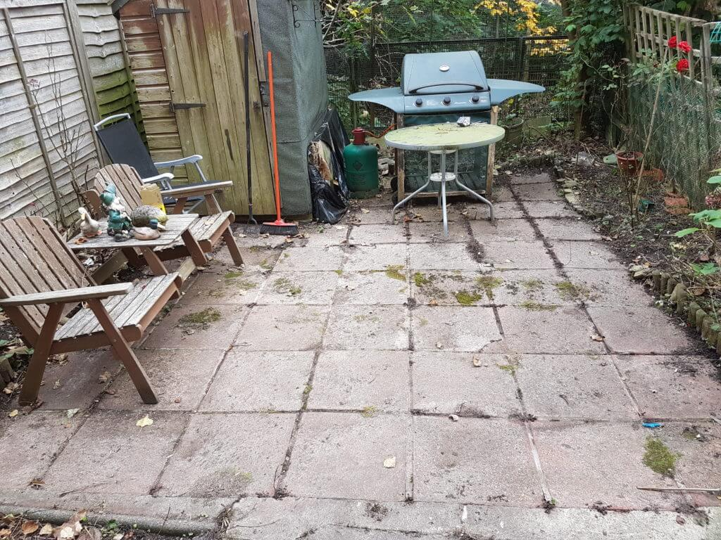 Small Patio Before