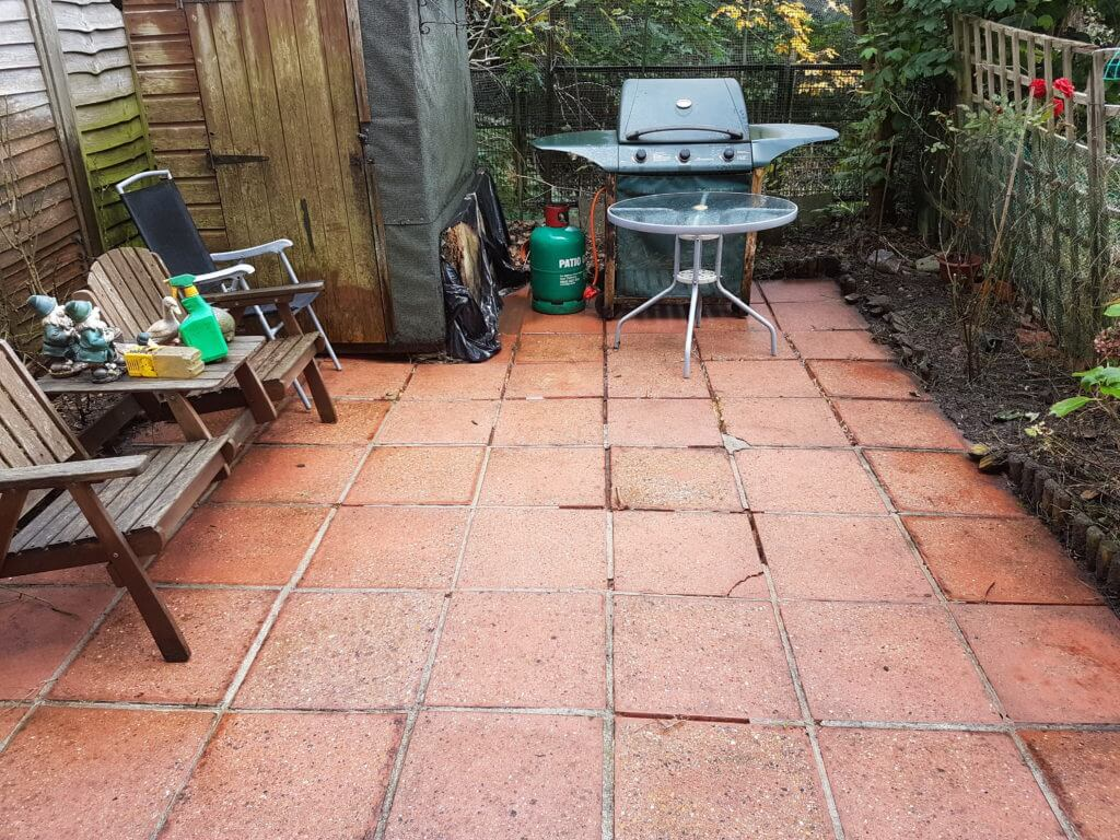 Small Patio After