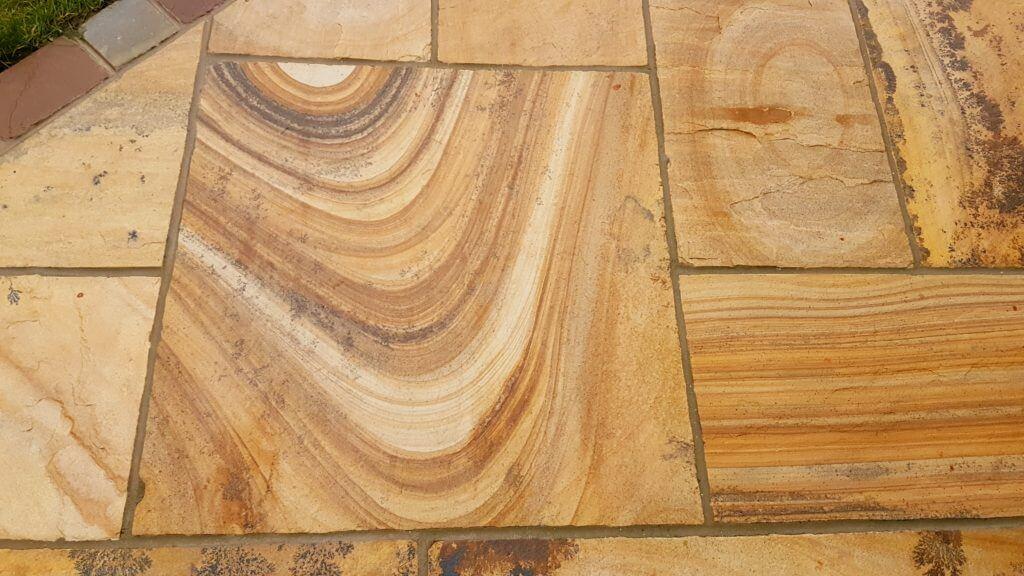 Natural Stone Swirl Patterns