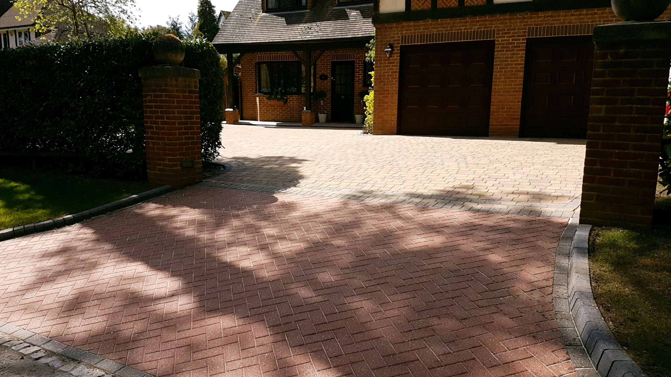 Clean & Sanding of Block Paving